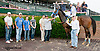 Pontos winning at Delaware Park on 7/24/13