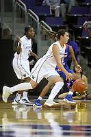 SEATTLE, WA - DECEMBER 18: Washington's Amber Melgoza against Savannah State.  Washington won 87-36 over Savannah State at Alaska Airlines Arena in Seattle, WA.