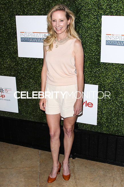 BEVERLY HILLS, CA - MAY 31: Anne Heche attends Step Up Women's Network 10th annual Inspiration Awards at The Beverly Hilton Hotel on May 31, 2013 in Beverly Hills, California. (Photo by Celebrity Monitor)