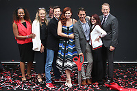 UNIVERSAL CITY, CA - AUGUST 02: Sean Hayes, Debra Messing, Megan Mullally, Eric McCormack, Guests, At 'Will & Grace' Start Of Production Kick Off Event And Ribbon Cutting Ceremony At Universal City Plaza  In California on August 02, 2017. Credit: FS/MediaPunch