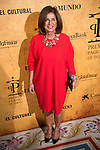 Ex Mayor Madrid, Ana Botella attends to delivery Paquiro bulls prize at the Ritz Hotel in Madrid. 01 October 2015.<br /> (ALTERPHOTOS/BorjaB.Hojas)