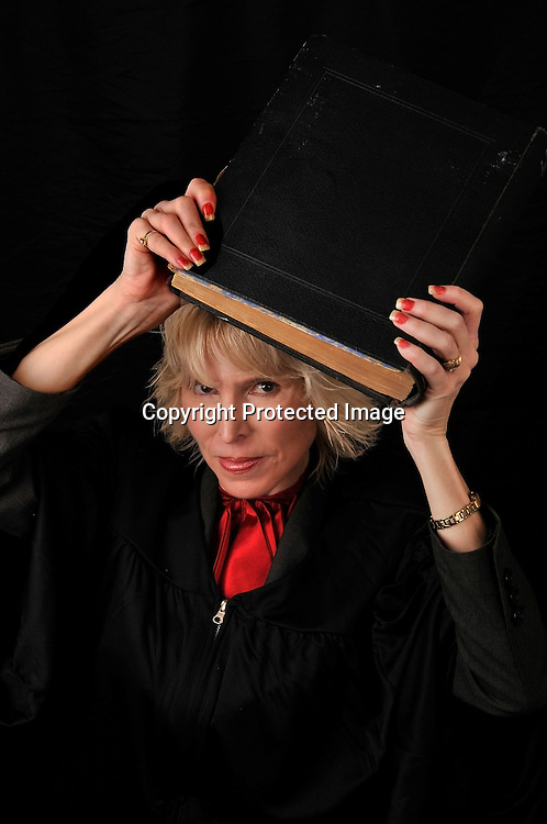 Stock Photo of a Woman Judge