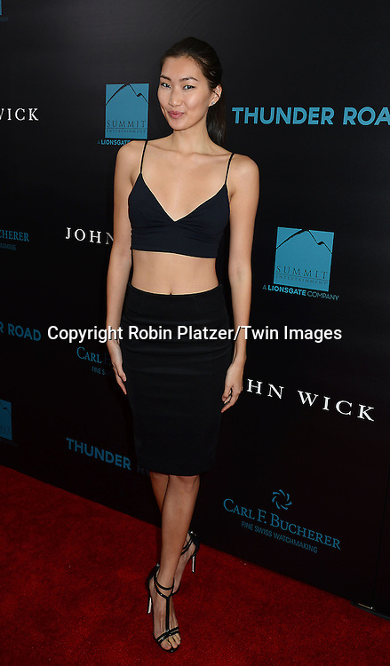 Ping Hue attends the Special Screening of &quot;John Wick&quot;  on October 13, 2014 at the Regal Union Square Stadium 14 in New York City.<br /> <br /> photo by Robin Platzer/Twin Images<br />  <br /> phone number 212-935-0770