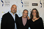"""Joe Basile & Paul Onorati & at """"West End"""" a film by Joe Basile about Family, Betrayal, Revenge - Greeting from the Jersey Shore - with its premiere at the Soho International Film Festival on April 11, 2013 at the Sunshine Cinema, New York City, New York. (Photo by Sue Coflin/Max Photos)"""