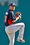 4 March 2011: Atlanta Braves pitcher Jose Ortegano in action during a Spring Training game against the Washington Nationals at Space Coast Stadium in Viera, Florida. The Braves defeated the Nationals 6-4 in Grapefruit League action. Mandatory Credit: Ed Wolfstein Photo