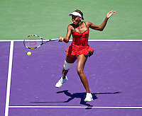 Venus WILLIAMS (USA) against Marion BARTOLI (FRA) in the semi-finals of the women's singles. Venus Williams beat Marion Bartoli 6-3 6-4..International Tennis - 2010 ATP World Tour - Sony Ericsson Open - Crandon Park Tennis Center - Key Biscayne - Miami - Florida - USA - Thu 1 Apr 2010..© Frey - Amn Images, Level 1, Barry House, 20-22 Worple Road, London, SW19 4DH, UK .Tel - +44 20 8947 0100.Fax -+44 20 8947 0117