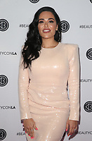 LOS ANGELES, CA - AUGUST 11: Mona Kattan, at Beautycon Festival Los Angeles 2019 - Day 2 at Los Angeles Convention Center in Los Angeles, California on August 11, 2019. <br /> CAP/MPIFS<br /> ©MPIFS/Capital Pictures