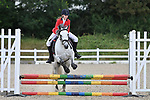 Class 4. Unaffiliated showjumping. Brook Farm Training Centre. Essex. UK. 06/07/2019. ~ MANDATORY Credit Garry Bowden/Sportinpictures - NO UNAUTHORISED USE - 07837 394578