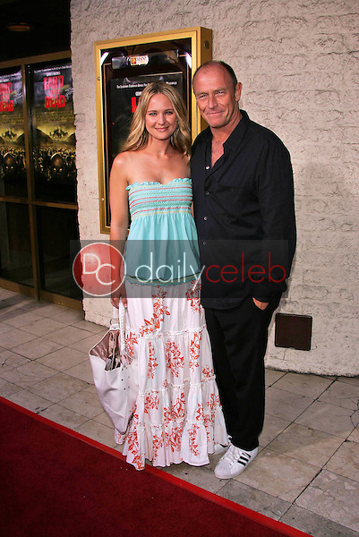 Sharon Case and Corbin Bernsen<br /> at the premiere of Universal's &quot;Land of the Dead,&quot; Mann National Theater, Westwood, CA 06-20-05<br /> David Edwards/DailyCeleb.Com 818-249-4998