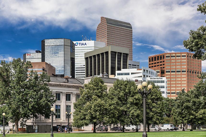 Downtown Denver office buildings, Denver, Colorado, USA