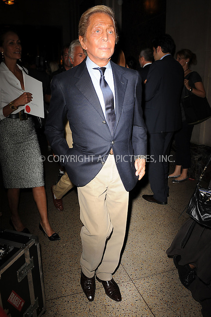 WWW.ACEPIXS.COM . . . . . .September 13, 2011 New York City.....Valentino Garavani attends  the Oscar de la renta fashion show on September 13, 2011 in New York City....Please byline: KRISTIN CALLAHAN - ACEPIXS.COM.. . . . . . ..Ace Pictures, Inc: ..tel: (212) 243 8787 or (646) 769 0430..e-mail: info@acepixs.com..web: http://www.acepixs.com .