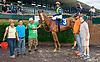 Social Stranger winning at Delaware Park on 6/19/17