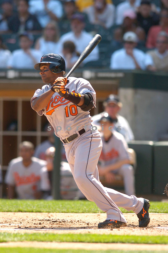 Miguel Tejada, of the Baltimore Orioles, during their game against the Chicago White Sox on July 4, 2006 in Chicago.....Chris Bernacchi / SportPics