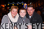 Hannah McGillicuddy, Tomás and Paul Clifford Killarney enjoying the New Years Eve concert in Killarney