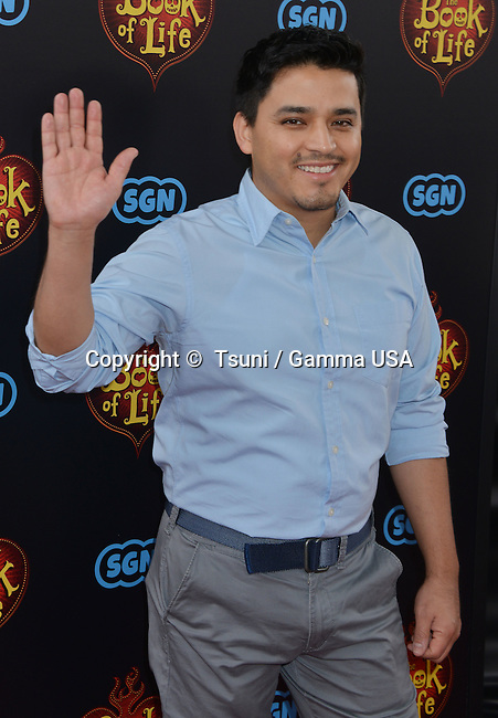 Douglas Spain  at the Book Of Life Premiere at the Regal Theatre in Los Angeles.