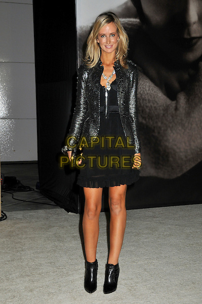 "LADY VICTORIA HERVEY .""Vanity Fair Portraits: Photographs 1913?2008"" Exhibition at the LA County Museum of Art, Los Angeles, California, USA..October 21st, 2008.full length black dress ankle boots leather jacket .CAP/ADM/BP.©Byron Purvis/AdMedia/Capital Pictures."