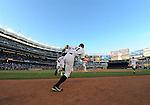 Ichiro Suzuki (Yankees),.APRIL 26, 2013 - MLB :.Ichiro Suzuki of the New York Yankees runs out onto the field during the baseball game against the Toronto Blue Jays at Yankee Stadium in The Bronx, New York, United States. (Photo by AFLO)