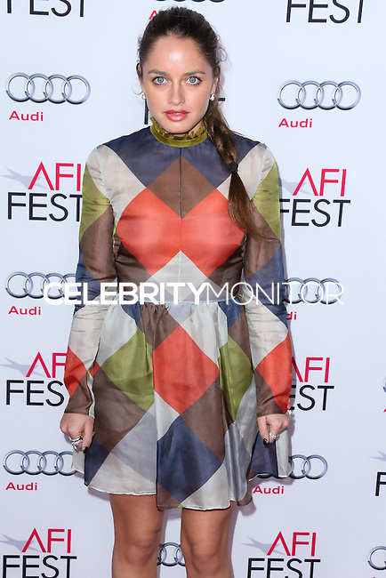 HOLLYWOOD, LOS ANGELES, CA, USA - NOVEMBER 12: Matilde Gioli arrives at the AFI FEST 2014 - Special Tribute To Sophia Loren held at the Dolby Theatre on November 12, 2014 in Hollywood, Los Angeles, California, United States. (Photo by Xavier Collin/Celebrity Monitor)
