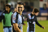 Luke O'Nien of Wycombe Wanderers after the Sky Bet League 2 match between Luton Town and Wycombe Wanderers at Kenilworth Road, Luton, England on 26 December 2015. Photo by David Horn.