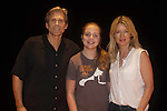 """Guiding Light's Grant Aleksander and Cynthia Watros along with her daughter Emma Gilliland all star in """"Breathing Under Dirt"""" - full play - had its world premier on August 13 and 14, 2016 at the Ella Fitzgerald Performing Arts Center, University of Maryland Eastern Shore, Princess Anne, Maryland  (Photo by Sue Coflin/Max Photos)"""