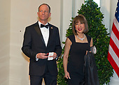 Assistant Secretary of State for East Asian and Pacific Affairs David Stilwell and Jan Stilwell arrive for the State Dinner hosted by United States President Donald J. Trump and First lady Melania Trump in honor of Prime Minister Scott Morrison of Australia and his wife, Jenny Morrison, at the White House in Washington, DC on Friday, September 20, 2019.<br /> Credit: Ron Sachs / Pool via CNP