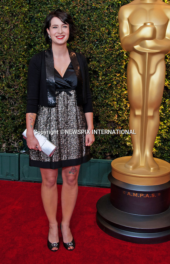 """DIABLO CODY.attends the 2011 Governors Awards in the Grand Ballroom at Hollywood & Highland in Hollywood, Los Angeles_12/11/2011.Mandatory Photo Credit: ©Wawrychuk/Newspix International..              **ALL FEES PAYABLE TO: """"NEWSPIX INTERNATIONAL""""**..PHOTO CREDIT MANDATORY!!: NEWSPIX INTERNATIONAL(Failure to credit will incur a surcharge of 100% of reproduction fees)..IMMEDIATE CONFIRMATION OF USAGE REQUIRED:.Newspix International, 31 Chinnery Hill, Bishop's Stortford, ENGLAND CM23 3PS.Tel:+441279 324672  ; Fax: +441279656877.Mobile:  0777568 1153.e-mail: info@newspixinternational.co.uk"""