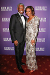 """Art Collins and Sela Collins arrives at the Alvin Ailey American Dance Theater """"Modern American Songbook"""" opening night gala benefit at the New York City Center on November 29, 2017."""