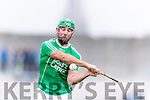 Kilmoyley in action against Mikey Boyle Ballyduff in the County Senior Hurling Final at Austin Stack Park on Sunday.