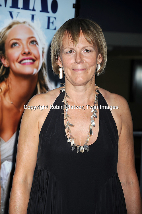 "Director Phyllida Lloyd..posing for photographers at The American Premiere of ""Mamma Mia! The Movie on July 16, 2008 at The ..Ziegfeld Theatre in New York City. ....Robin Platzer, Twin Images"