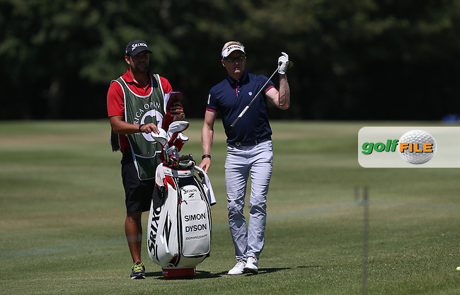 Simon Dyson (ENG) plays from the 16th fairway to the 15th during Round Three of the Africa Open 2015 at the East London Golf Club, East London, Eastern Cape, South Africa. Picture:  David Lloyd / www.golffile.ie. 07/03/2015