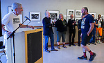 "The opening reception at the Harvey Milk Photo Center in San Fransciso, Calfornia for the ""LGBTQ Chronicled:  1933-2016 Celebrating Pride"" photography exhibit was held on Saturday evening, June 18, 2016.  This group photography exhibit features a historic body of photographs of the Bay Area Pride movement and will be at the Harvey Milk Photo Center from June 18 - July 16, 2016.  Photographers Saul Bromberger and Sandra Hoover were featured with their historic body of photographs chronicling the Pride Parade held every year in San Francisco; the documentary work of Preston Gannaway; and the recent photojournalistic coverage of the candlelight vigil held in San Francisco after the Orlando massacre by Gabirelle Lurie were included in the show along with selections of historic photographs.   The Opening Reception featured speakers, comments from the photographers, and some of the people in the images, as well as an appearance by Peaches Christ at the end of the evening.  Photo/Victoria Sheridan 2016"