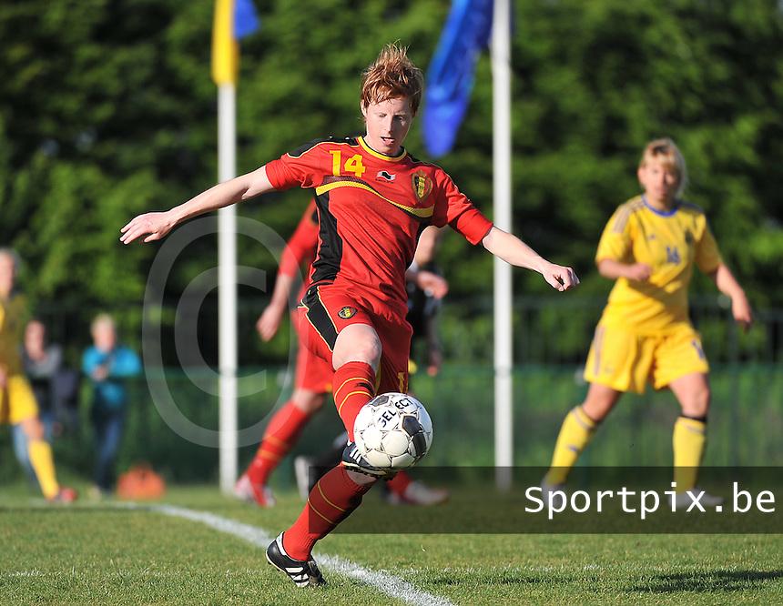 Belgium - Ukraine : Lien Mermans<br /> foto DAVID CATRY / Nikonpro.be