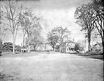 Frederick Stone negative. Middlebury Green, 1908.