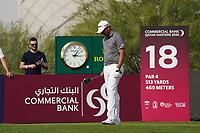 Dean Burmester (RSA) during the third round of the Commercial Bank Qatar Masters 2020, Education City Golf Club , Doha, Qatar. 07/03/2020<br /> Picture: Golffile | Phil Inglis<br /> <br /> <br /> All photo usage must carry mandatory copyright credit (© Golffile | Phil Inglis)