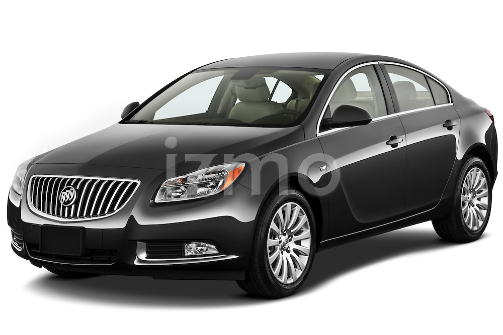 Front three quarter view of a 2011 Buick Regal CXL Sedan