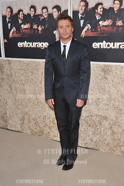 "Kevin Connolly at the premiere for the sixth season of the HBO TV series ""Entourage"" at Paramount Studios, Hollywood..July 9, 2009  Los Angeles, CA.Picture: Paul Smith / Featureflash"