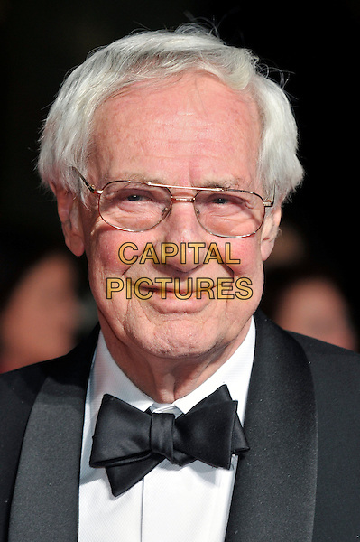 Barry Norman.attends the London Film Critics' Circle Awards at BFI Southbank,  London, England..19th January 2012 .headshot portrait black white bow tie tuxedo glasses .CAP/PL.©Phil Loftus/Capital Pictures.