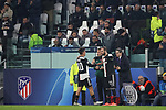 Paulo Dybala of Juventus is substituted for Gonzalo Higuain during the UEFA Champions League match at Juventus Stadium, Turin. Picture date: 26th November 2019. Picture credit should read: Jonathan Moscrop/Sportimage