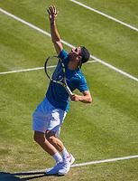 Den Bosch, Netherlands, 13 June, 2017, Tennis, Ricoh Open, Adrian Mannarino (FRA)<br /> Photo: Henk Koster/tennisimages.com