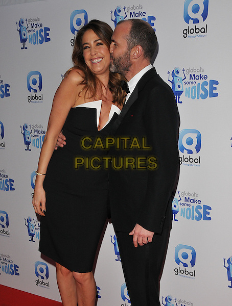 Lisa Snowdon &amp; Johnny Vaughan attend the Global Radio's Make Some Noise Night Gala, Supernova, Embankment Gardens, London, England, UK, on Tuesday 24 November 2015. <br /> CAP/CAN<br /> &copy;CAN/Capital Pictures