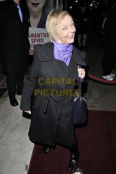 LONDON, ENGLAND - JANUARY 29: Sheila Reid attends the &quot;Di and Viv and Rose&quot; press night, Vaudeville Theatre, The Strand, on Thursday January 29, 2015 in London, England, UK. <br /> CAP/CAN<br /> &copy;Can Nguyen/Capital Pictures