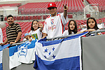 11 March 2008: Unidentified Honduras fans, pregame. The Honduras U-23 Men's National Team defeated the Panama U-23 Men's National Team 1-0 at Raymond James Stadium in Tampa, FL in a Group A game during the 2008 CONCACAF's Men's Olympic Qualifying Tournament.