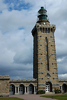 Old lighthouse at Cap Frehel, Brittany, France.