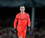 Jordan Pickford of Everton during the Europa League Group E match at Goodison Park Stadium, Liverpool. Picture date: September 28th 2017. Picture credit should read: Simon Bellis/Sportimage