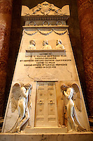 Tomb in St Peter's, The Vatican, Rome