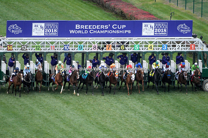 Horse Racing 2018 Breeders Cup World Championship Friday