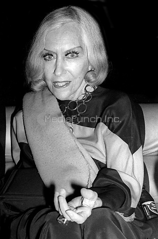 Gloria Swanson 1978<br /> Photo By Adam Scull/PHOTOlink /MediaPunch