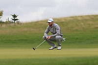 Jens Dantorp (SWE) on the 2nd green during Round 1 of the Bridgestone Challenge 2017 at the Luton Hoo Hotel Golf &amp; Spa, Luton, Bedfordshire, England. 07/09/2017<br /> Picture: Golffile | Thos Caffrey<br /> <br /> <br /> All photo usage must carry mandatory copyright credit     (&copy; Golffile | Thos Caffrey)