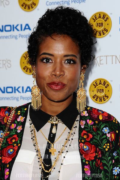 Kelis arriving for the Jeans For Genes Launch Party, at Kettners, London. 06/09/2011  Picture by: Steve Vas / Featureflash