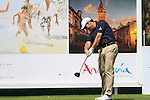 David Dixon (ENG) in action on the 16th tee during Day 1 Thursday of the Open de Andalucia de Golf at Parador Golf Club Malaga 24th March 2011. (Photo Eoin Clarke/Golffile 2011)